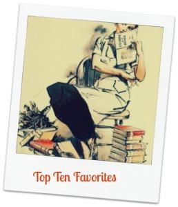 bookish blog header - cu -top ten favorites