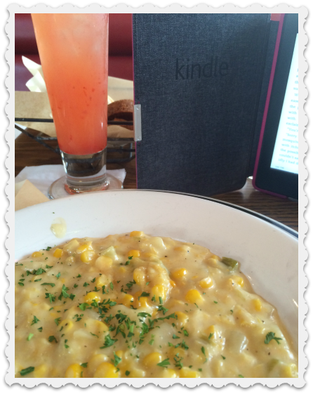 June 10 - corn chowder & margarita